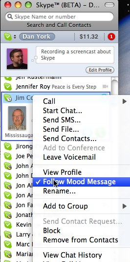 Twitter Chat On Disruptive Mood >> Skype 2 8 Beta For Mac Os X Provides Screen Sharing Wifi Access
