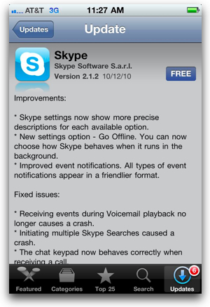 how to change skype name on iphone 4