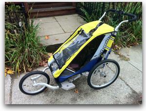 The Chariot Jogging Stroller That Saved My Daughter's Life - Dan York