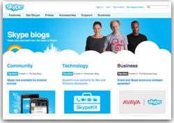 skyp blog