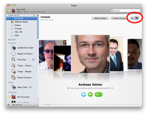 how to create group chat on skype mac