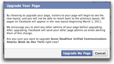Facebookupgradewarning
