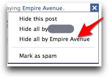 Facebook hideapps 1
