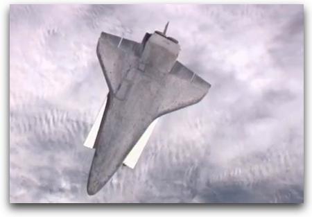 YouTube  Atlantis Performs RBAR Pitch Maneuver 1