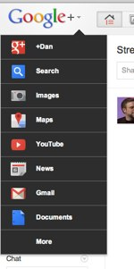 Google+dropdown 1