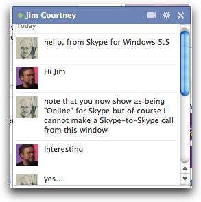 Facebook skype55