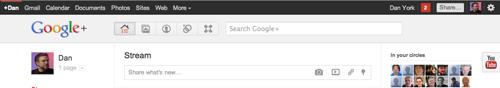 Old Google+ look