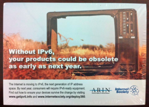 IPv6 your products obsolete 300