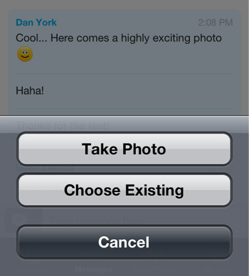 Skype Releases Photo-Sharing for iPhone/iPad