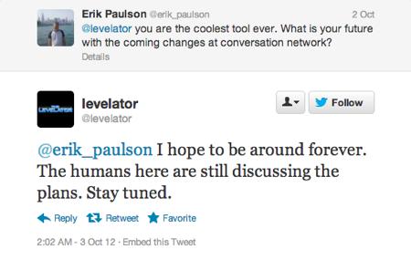 Levelator future