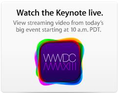 Watch wwdc live