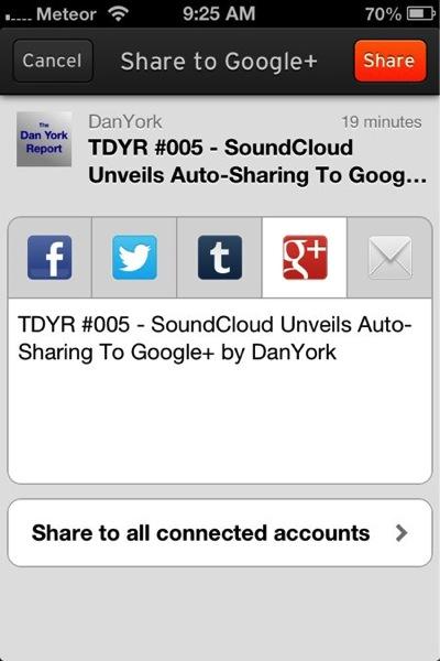 Ios app sharing