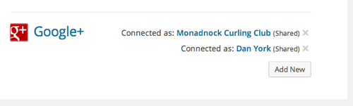 Sharing Settings Monadnock Curling Club WordPress 6