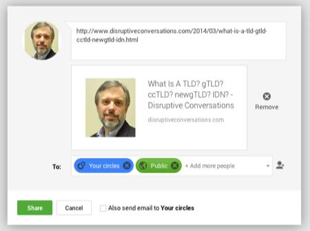 Getty embed googleplus