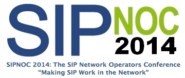 SIP Forum SIPNOC 2014 Overview