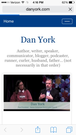 Danyork com responsive design