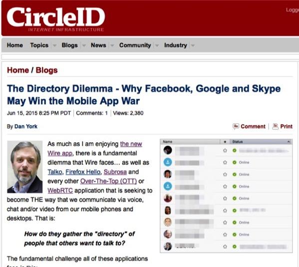 Directory dilemma