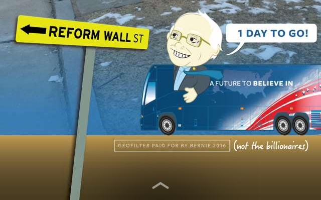 Bernie snapchat final cropped