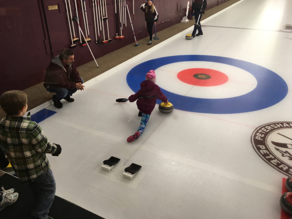 A Crazy Day of Curling (Across Generations)