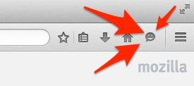 Firefox hello button